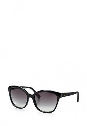 Очки солнцезащитные Fendi FF 0043/S 64H. Цвет: черный