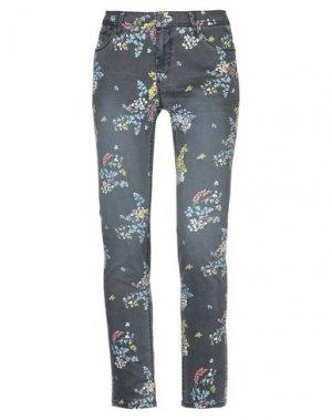 Джинсовые брюки GARCIA. Цвет: свинцово-серый