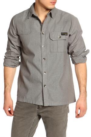Рубашка Dunlop. Цвет: grey