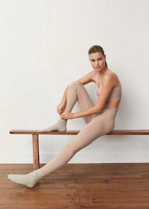 Две пары носков в рубчик - Judith Mango. Цвет: зеленая мята