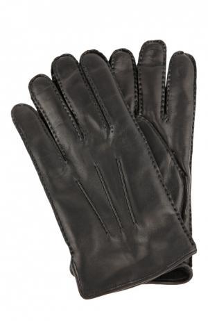 Перчатки Brioni. Цвет: черный