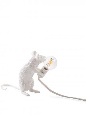 Настольная лампа Mouse Seletti. Цвет: белый
