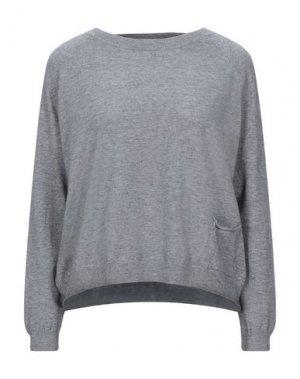 Свитер B.YU. Цвет: серый