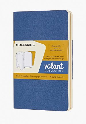 Блокнот Moleskine VOLANT POCKET. Цвет: синий