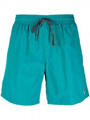 Drawstring swim shorts PAUL SMITH. Цвет: синий
