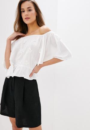 Блуза Indiano Natural. Цвет: белый