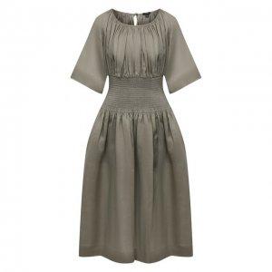Платье Joseph. Цвет: зелёный