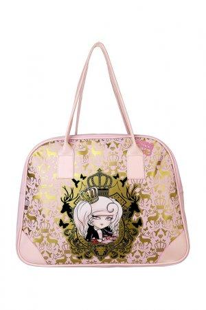 Спортивная сумка Kimmidoll. Цвет: розовый