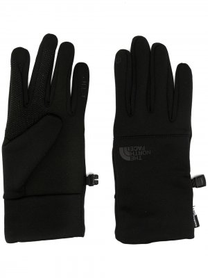 Перчатки Etip The North Face. Цвет: черный