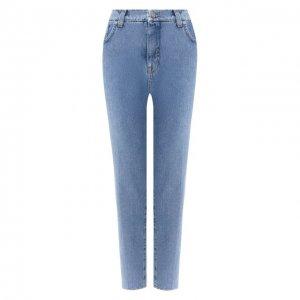Укороченные джинсы Two Women In The World. Цвет: синий