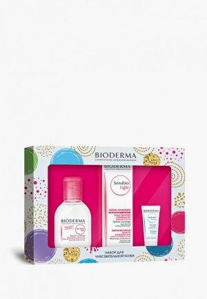 Набор для ухода за лицом Bioderma Сенсибио: Лайт 40 + H2O 100 Гидрабио Сыворотка 15. Цвет: прозрачный