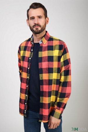 Рубашка с длинным рукавом Claudio Campione. Цвет: разноцветный