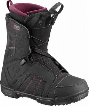 Сноубордические ботинки женские Scarlet, размер 36,5 Salomon. Цвет: черный