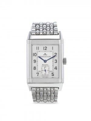 Наручные часы Reverso pre-owned 26 мм 1990-х годов Jaeger-LeCoultre. Цвет: серебристый