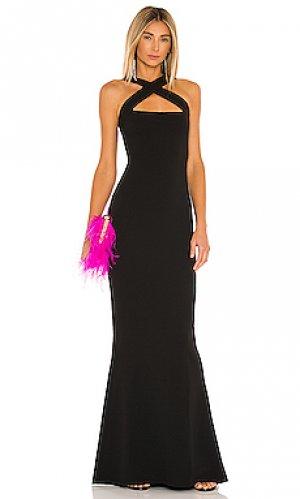 Вечернее платье viva Nookie. Цвет: черный