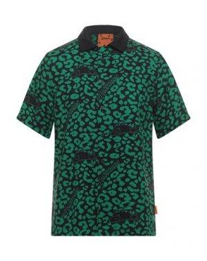 Pубашка LAZY OAF. Цвет: зеленый
