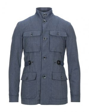 Куртка DOMENICO TAGLIENTE. Цвет: синий