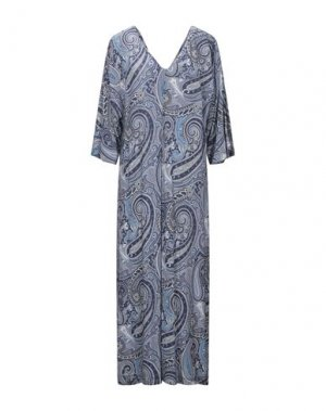 Длинное платье ALPHA STUDIO. Цвет: синий