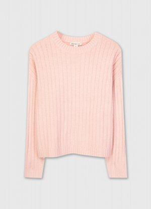 Джемпер из мягкой смесовой пряжи O`Stin. Цвет: светло-розовый
