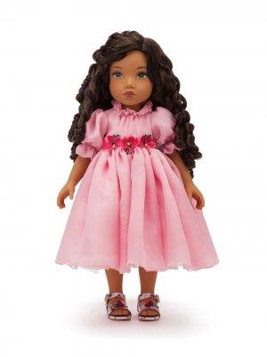 Кукла в платье Dolce & Gabbana Kids. Цвет: разноцветный