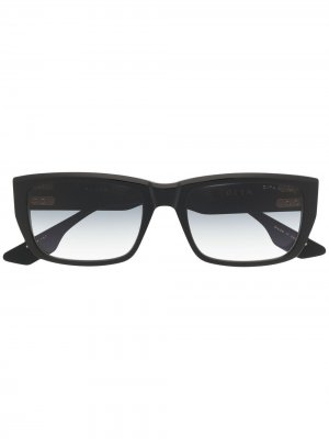 Солнцезащитные очки Alican в прямоугольной оправе Dita Eyewear. Цвет: черный
