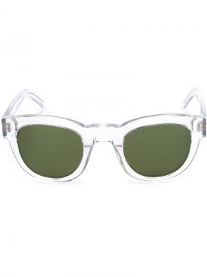 Солнцезащитные очки Type 04 Sun Buddies. Цвет: белый