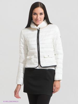Куртка Maison espin. Цвет: белый