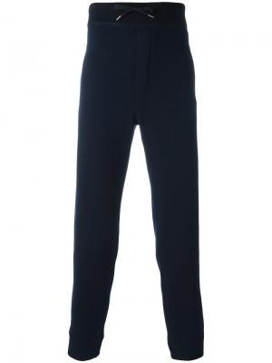 Классические брюки кроя слим Ermanno Scervino. Цвет: синий