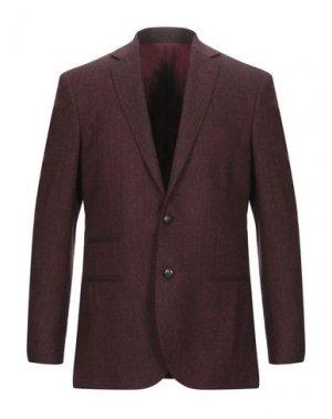 Пиджак ROYAL ROW. Цвет: красно-коричневый