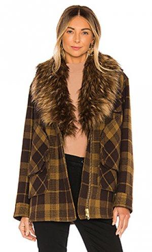 Куртка barn Smythe. Цвет: коричневый