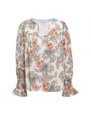 Блузка ANTIK BATIK. Цвет: белый