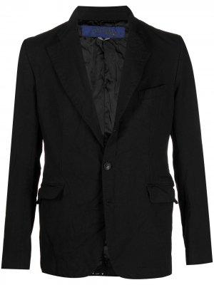 Однобортный пиджак Junya Watanabe MAN. Цвет: черный