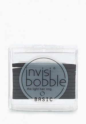 Комплект invisibobble BASIC True Black. Цвет: черный