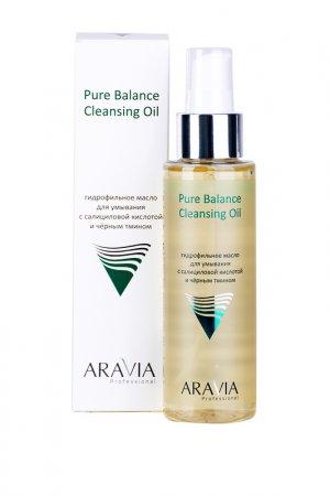 Гидрофильное масло ARAVIA Professional. Цвет: желтый