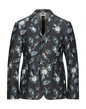 Пиджак THOM BROWNE. Цвет: синий