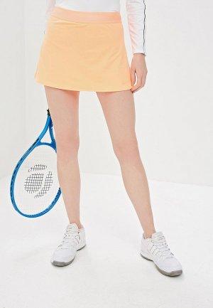 Юбка-шорты Nike COURT DRI-FIT WOMENS TENNIS SKIRT. Цвет: оранжевый