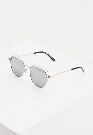 Очки солнцезащитные Jimmy Choo FRANNY/S 010. Цвет: золотой