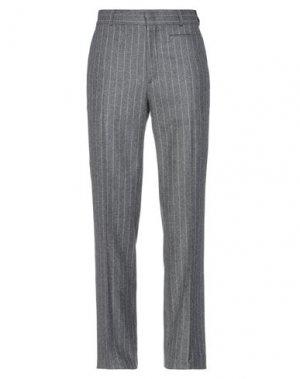 Повседневные брюки FENDI. Цвет: серый