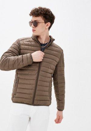 Куртка утепленная Jorg Weber. Цвет: коричневый