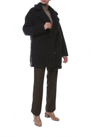 Пальто Alwero. Цвет: черный