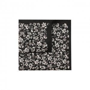 Шелковый платок Eton. Цвет: чёрно-белый