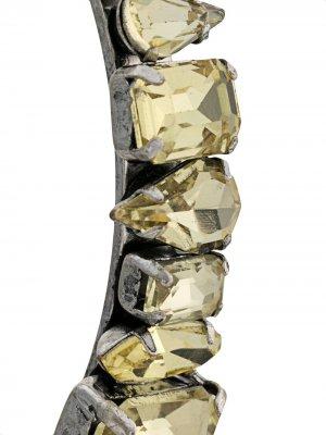Декорированный браслет-кафф Cielo Dannijo. Цвет: серебристый