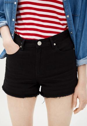 Шорты джинсовые Glamorous. Цвет: черный