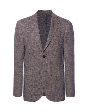 Пиджак MONTEDORO. Цвет: красно-коричневый