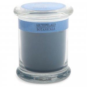 Декоративная ароматическая свеча в стеклянной баночке Excursions Jar Santorini Candle 244 г Archipelago Botanicals
