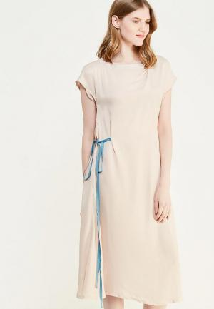Платье Luv. Цвет: розовый