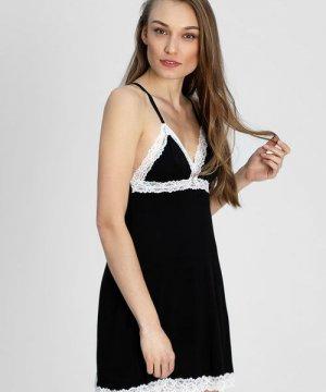 Ночная сорочка O`Stin. Цвет: черный