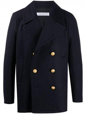 Двубортный пиджак Department 5. Цвет: синий