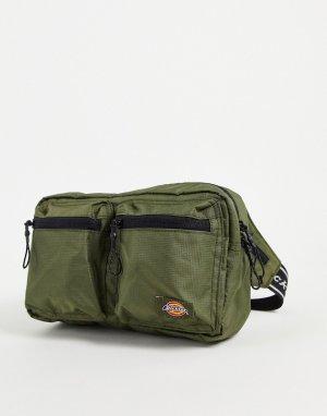Зеленая сумка-кошелек на пояс Apple Valley-Зеленый цвет Dickies