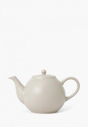 Чайник заварочный Viva Scandinavia с ситечком Classic 0,8 л. Цвет: бежевый